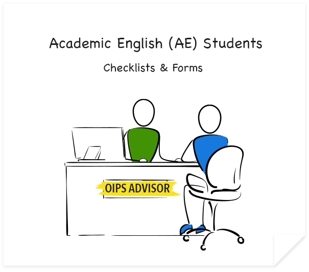 Academic English Students Checklists and Forms